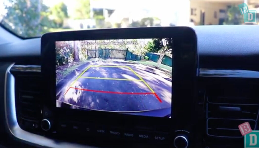 2021 Kia Stonic reversing camera