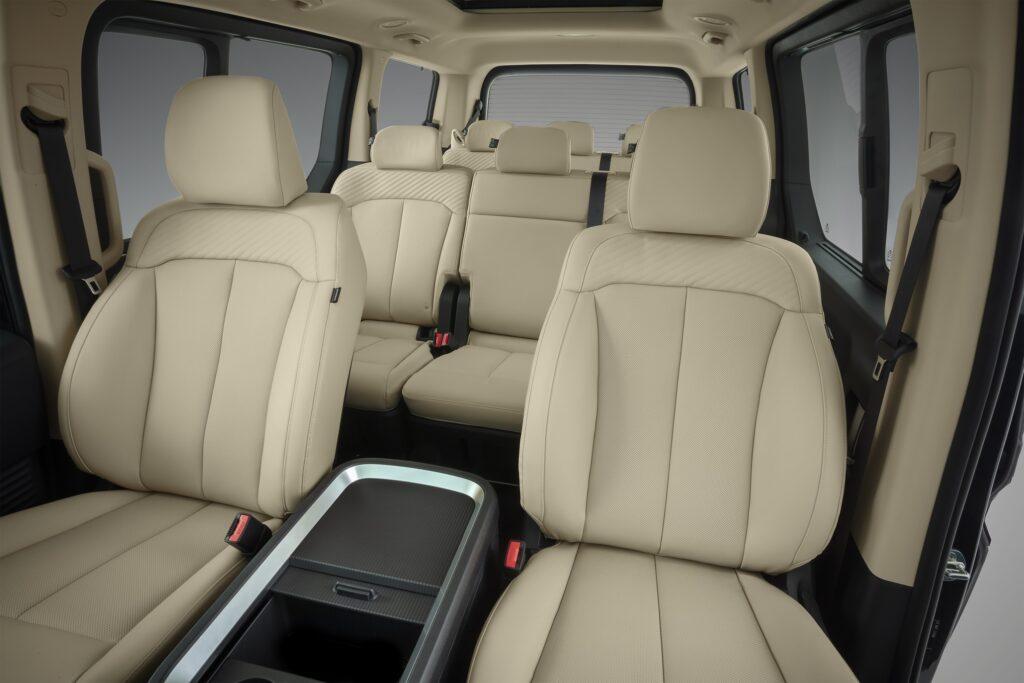 Hyundai Staria 2022 interior