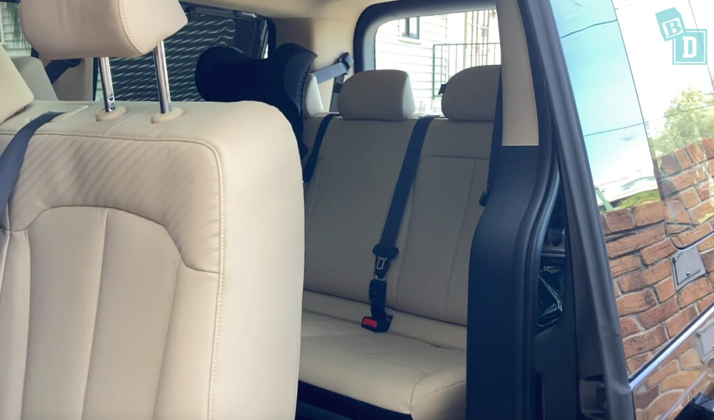 2022 Hyundai Staria Highlander third row access